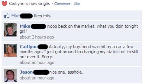 car accident facebook